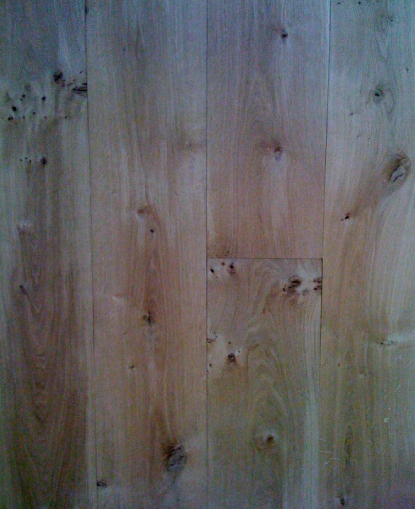 Unfinished Solid French Oak Flooring Blamphayne Sawmills