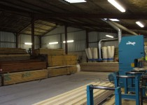 Timber Building Supplies, Blamphayne Sawmill, Devon