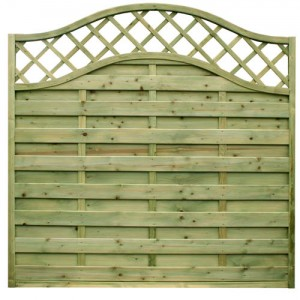 Neris Decorative Fence Panel