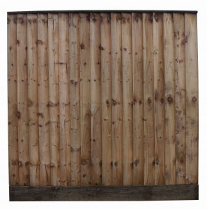 Tanalised Featheredge Garden Fence Panel