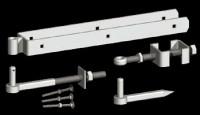 galvanised Adjustable Hang Set