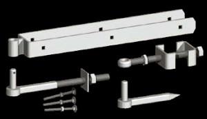galvanised Adjustable Hang Set