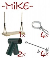 Mike Swing Kit, Play Equipment from Blamphayne