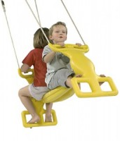 Plastic Duo Swing Seat