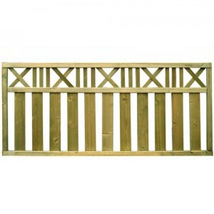 Trakai Country Trellis Decorative Fence Panel