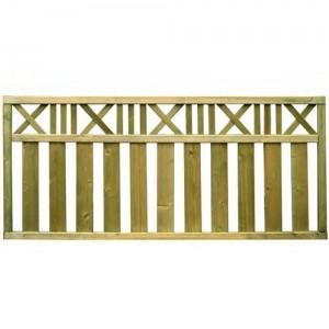 Trakai Country Trellis Decorative Fence Panel