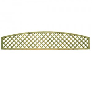 Convex Diamond Trellis Medium