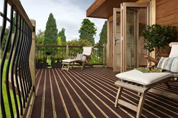 WalkSure non slip garden decking Devon