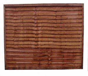 Blamphayne Windcheater Overlap Garden Fence Panel