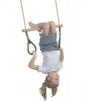 Wooden Rung Trapeze - Play Equipment
