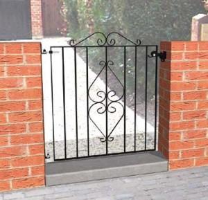 ascot metal gate