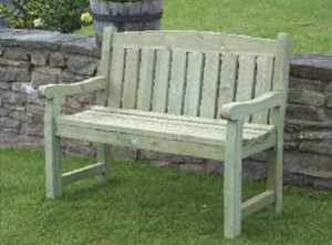 cotswold garden bench