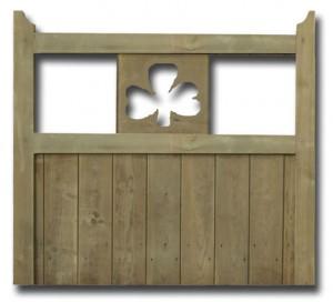 cloverleaf garden gate