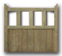 haydonvale garden wooden gate