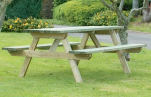 wye picnic table